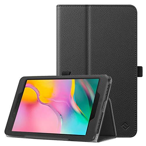 Fintie Custodia per Samsung Galaxy Tab A 8.0 2019 SM-T290 / SM-T295 - Slim Fit Folio Cover Protettiva Stand Case con Funzione Sleep/Wake, Nero