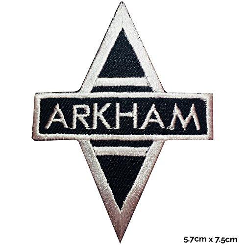 Batman Arkham Asylum Eisen nähen auf bestickt Patch Kostüm T Shirt Tasche Jacke Badge