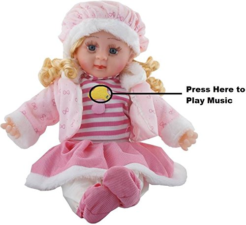 Shreeji Girl Baby Doll (Pink)