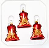 Glocken Red Barock 3 Stück