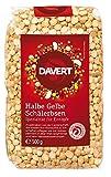 Davert Halbe gelbe Schälerbsen, 8er Pack (8 x 500 g)