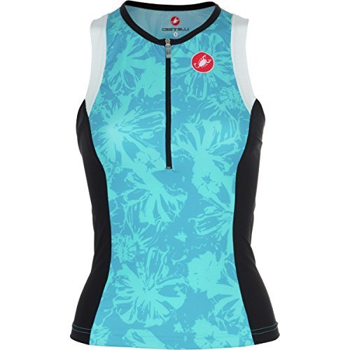 Castelli Free Donna Tri Top - Sleeveless - Women's Pastel Blue, L by Castelli