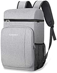 49 Cans Insulated Cooler Backpack, Leakproof Spacious Lightweight Soft Cooler Bag Backpack Cooler with Double
