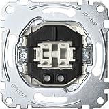 Merten MEG3135-0000 Serienschalter-Eins. mit Orientierungslicht, 1-polig, 10 AX, AC 250 V, Steckkl.