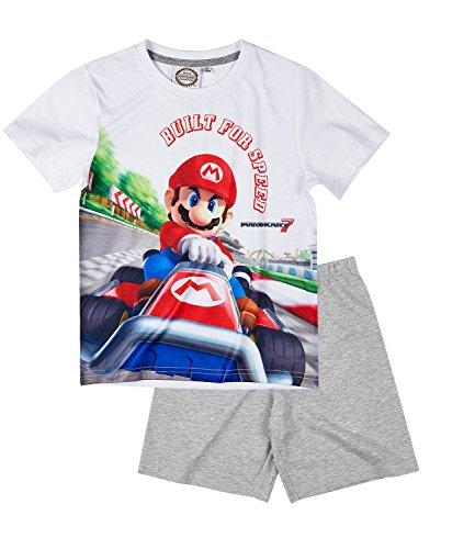 super-mario-pigiama-due-pezzi-ragazzo-white-8-anni