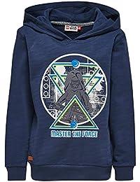 Lego Wear Jungen Sweatshirt Star Wars Saxton 351 - Sweatshirt mit Kapuze