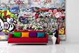 Fototapete Urban Graffiti - weitere Größen und Materialien wählbar - DEUTSCHE PROFI QUALITÄT von Trendwände