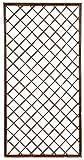 Verdemax 57991,2x 0,6m rechteckig Weide Feste-Gitter–Natur