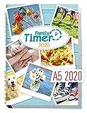 Family-Timer 2020 - Der Familien-Planer! 12 Monate Januar - Dezember 2020, Familienkalender für bis zu 4 Personen + viele hilfreiche Features - Häfft