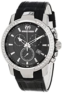 Technomarine Ladies Black Dial Watch 609017