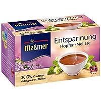 Meßmer Entspannung Hopfen-Melisse, 2er Pack (2 x 40 g Packung)
