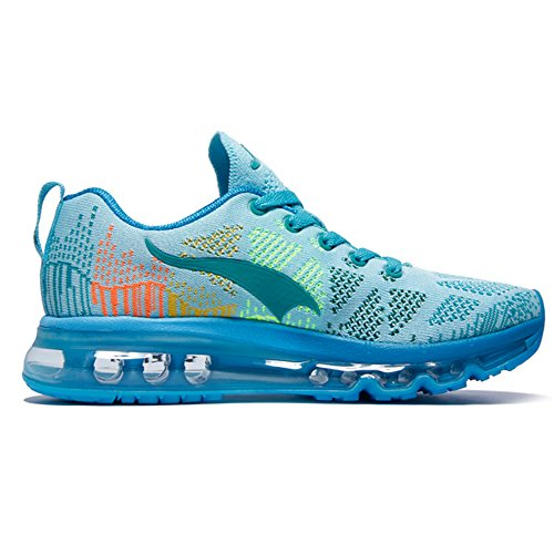 Ar Onemix Sapatilha De Running Tênis Tênis Estrada Ar Almofada Luz Esportivos Com Calçados Azul Homens Mulheres Sapatos S7pn4Sq0