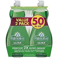 Palmolive Ultra Original Dish Wash Liquid, 25 Ounce, 2 Count