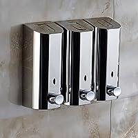 Ducha de dispensadores Montaje en pared,Acero inoxidable Dispensador de jabón prensa,Inicio Hotel