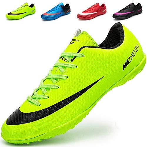 Ikeyo scarpe da calcio uomo professionale unisex sportivo all'aperto di calcio bambini teenager scarpe da calcetto