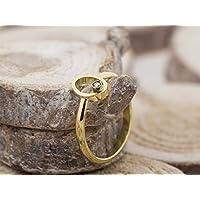 GEOMETRIE | Diamantring aus 18ct Gold