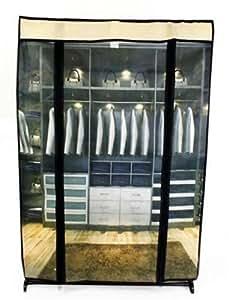 Toile imprimée Organiseur pour debout Meuble de rangement à chaussures en tissu Tidy