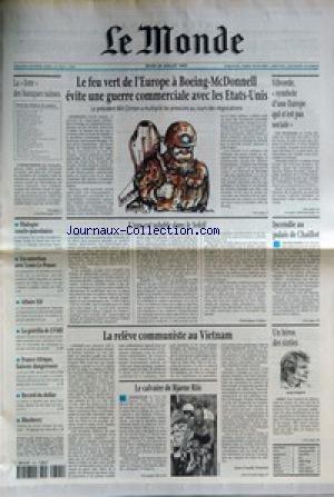 MONDE (LE) [No 16325] du 24/07/1997 - LE...