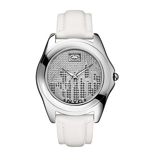 Marc Ecko Reloj Análogo clásico para Hombre de Cuarzo con Correa en Cuero E08504G6