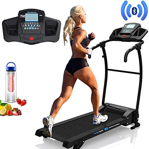 PrestigeSports XMPRO Dynamic Treadmill - 2019 Model Motorised Running Machine, Powerful Motor...