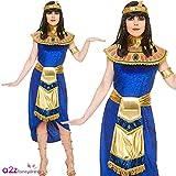 Wicked Costumes Traje de disfraces grandes de princesa egipcia Cleopatra para mujer adulta (talla x-pequeña 34-36)
