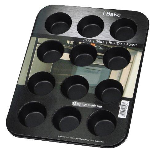 I-BAKE 12 Cup Mini Muffin Pan -