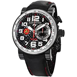 Graham Silverstone Tourist Trophy Isle of Man Men's Automatic Chronograph Limited Edition Watch 2BLUV.B25R