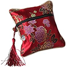 Zhhlaixing Hot Sell Multicolor Jewelry Silk Purse Pouch Chinese Style Gift Bags