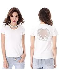 Keno camiseta mujer - 95% algodón - camiseta casual - S