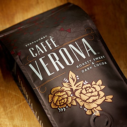 Starbucks Caffè Verona 250g Dark Roast Whole Bean 100% Arabica Coffee