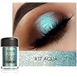 SMILEQ Sexy 12 Colors Shimmer Eyeshadow Earth Palette Makeup Pearl Metallic Powder Lasting Natural
