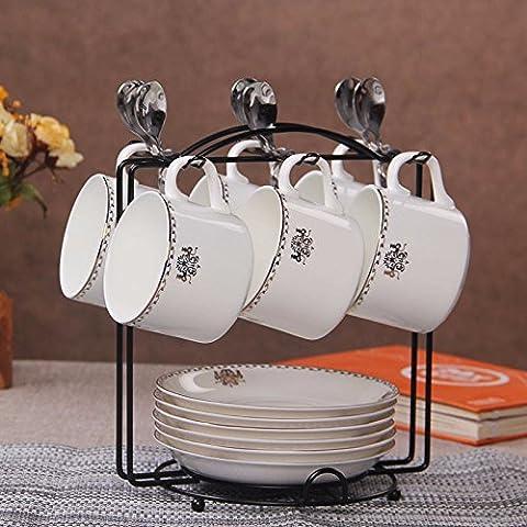 YOYOCCI Style moderne eau Lait tasse tasse tasses tasses à café Décoration