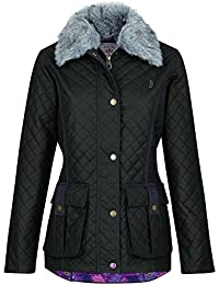 Jack Murphy Womens/Ladies Charlize Waxed Showerproof Country Jacket