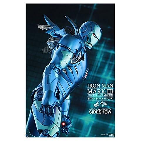 Avengers–Figurine Iron Man Mark III STEALTH mode version, 2015Exclusive (Hot