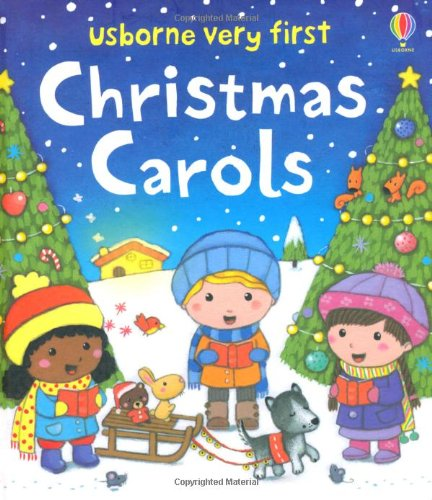 Very First Christmas Carols (Usborne Very First Words)