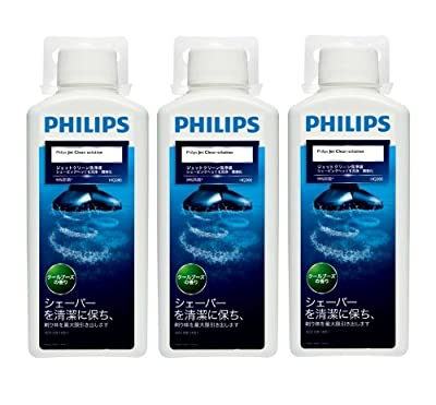PHILIPS Jet clean-only cleaning solution HQ203/51 [Pack 3, into the 300-ml]