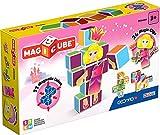 Geomag- Princess Gioco di Costruzione con Cubetti Magnetici, Multicolore, PF.331.143.00
