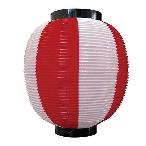 Rote und Weiße Japanische Chochin Laterne Japan Import 8877