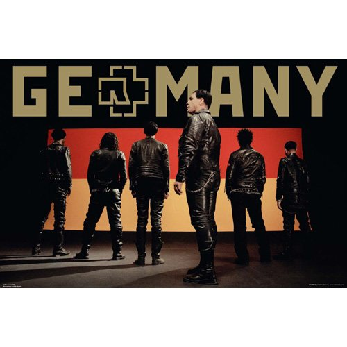 Rammstein - Poster Germany (in 61 cm x 91,5 cm)