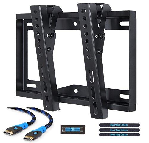 Mounting Dream MD2268-S-02 TV Soporte de pared soporte de inclinación para la mayoría 26 – 42 pulgadas LED, LCD y Plasma televisores de hasta VESA 200 x 200 mm y 20 kg capacidad de carga