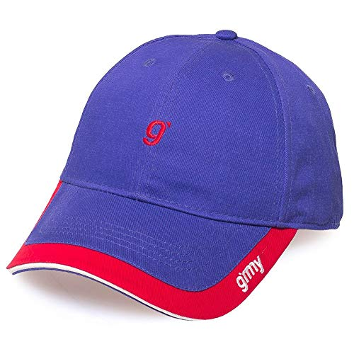 Imagen de grimey  flamboyant curved visor azul ajustable