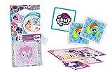 Ass Altenburger 22583117 - My Little Pony - Aqua Game, Memo und Puzzlespiel - Wasserfeste Karten