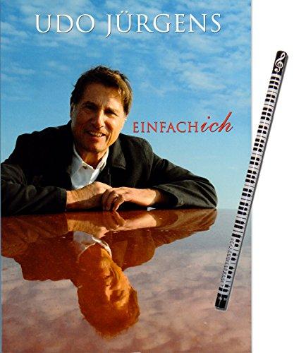 Udo Jürgens -Einfach ich - Notenausgabe für Klavier / Gesang / Gitarre zum gleichnamigen Album inkl. Piano-Bleistift [Sheetmusic / Noten / PVG]
