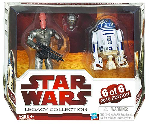 Star Wars Legacy Collection Geonosis Arena Showdown R2D2 & C3PO #6 by 6
