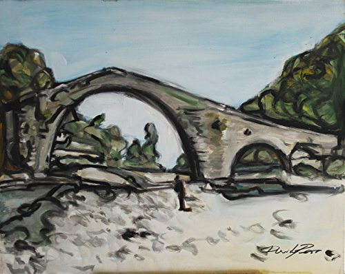 devils-bridge-in-borgo-a-mozzano-lucca-painted-in-tempera-on-canvas-size-size-118x157-inch-executed-