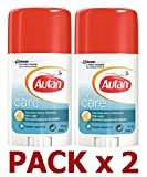 AUTAN Family Care - Barra Repelente de Mosquitos de Acción Inmediata con Icaridina y Aloe Vera, 100 ml
