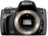 Sony DSLR-A230 SLR-Digitalkamera (10 Megapixel, BIONZ Bildprozessor) nur Gehäuse