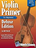 Violin Primer Book For Beginners Deluxe Edition with Video & Audio Access
