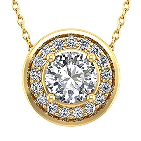 Diamond Delight Or 750 or jaune 750/1000 (18 cts) Rond GH Diamant blanc