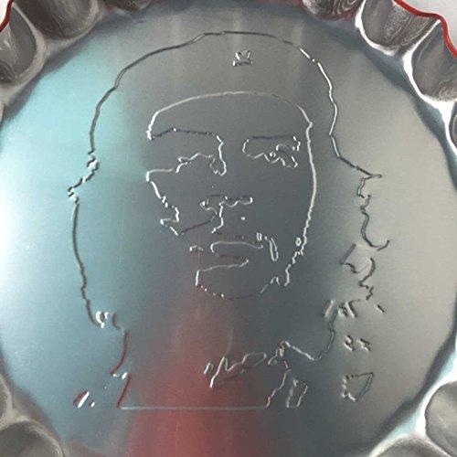 Placas Metal Arte de Cartel Colgante de Pared Póster Forma de Botella Casquillo Chapa Retro Cafe Pub Barra Decoración - 56